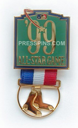 1999 Boston All-Star Press Pin MAIN