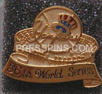 1999 New York Yankees World Series Press Pin