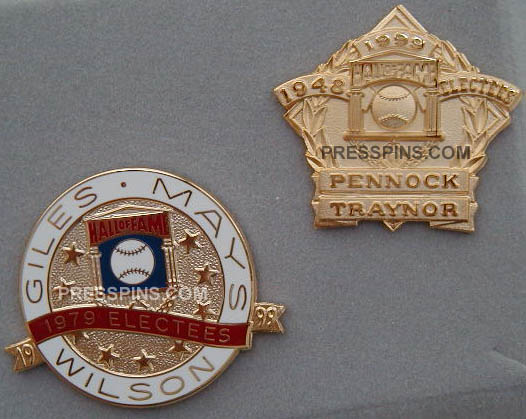 1999 Retroactive Hall of Fame Press Pins