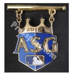 2012 Kansas City All Star Press Pin