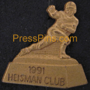 1991 Heisman Club Press Pin