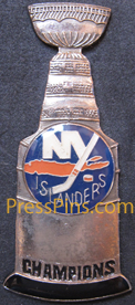 New York Islanders Champions Pin_MAIN