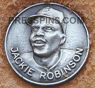 1962 Jackie Robinson Luncheon pin MAIN