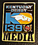 2013 Kentucky Derby Media Press Pin