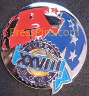 1994 Super Bowl XXVIII Player Pin