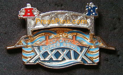 2005 Super Bowl XXXIX  Pin