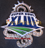 2009 Super Bowl XLIII Player Pin