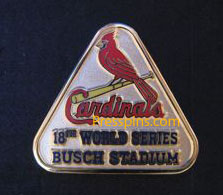 2011 St. Louis Cardinals World Series Press Pin
