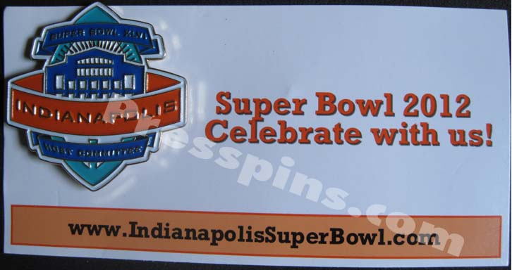 2012 Super Bowl XLVI Host Committee Pin_MAIN