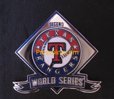 2011 Texas Rangers World Series Press Pin
