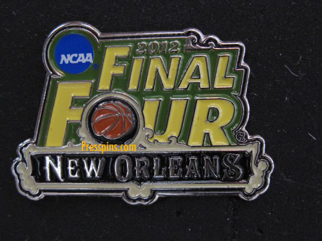 2012 NCAA Final Four Press Pin (New Orleans)