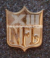 1979 Super Bowl XIII Press Pin