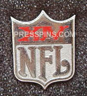 1980 Super Bowl XIV Press Pin MAIN