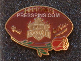 1993 Super Bowl XXVII Press Pin_MAIN