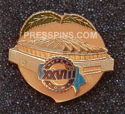 1994 Super Bowl XXVIII Press Pin