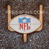 1975 Super Bowl IX Press Pin