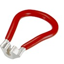 "IceToolz 14/15G (0.136"") Spoke Wrench, Red"
