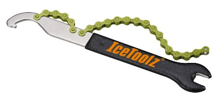IceToolz Single Speed Pedal, Chain Whip Tool