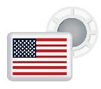 BibBits With USA Flag 4 inner and 4 outer magnets