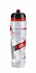 Elite Maxi Corsa Water Bottle Clear With Red 950ml