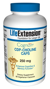 Cognizin CDP-Choline Caps - Citicoline