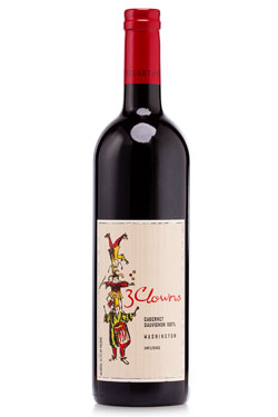 2013 - 3 Clowns Cabernet