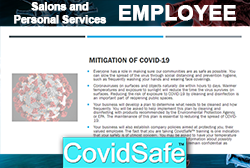 CovidSafe™ for Salon Employees MAIN