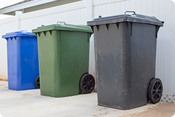 Cleaning Trash Receptacles MAIN