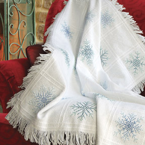 Evenweave Throw Afghan 16 Count Stoney Creek Online Store