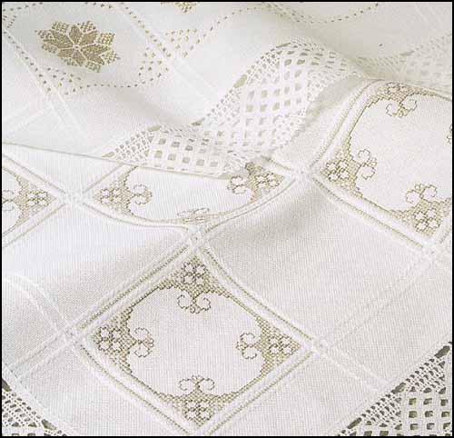 Anne Cloth 18ct White Afghan Cotton Stoney Creek