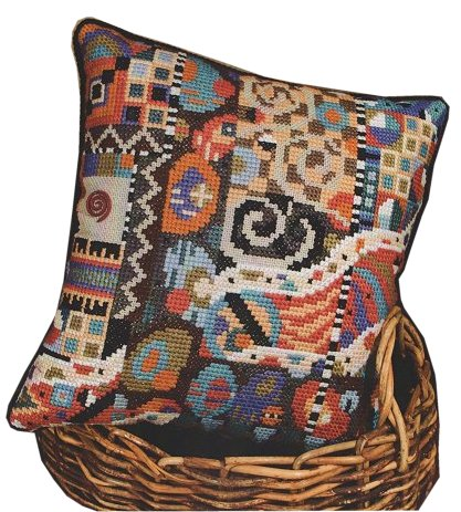 Modern Cross Stitch Pillow Kits : Stoney Creek Magazine Shopping List / October 2010 Shopping List / Contemporary Pillows ? Stoney ...