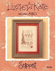 Lizzie Kate Snippet - Winter ABC's