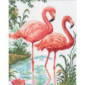 RTO Cross Stitch Kit - Flamingo