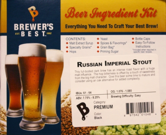 Russian Imperial Stout Ingredient Kit