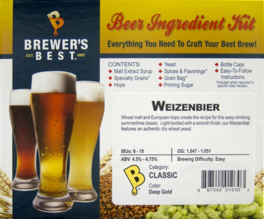 Weizenbier Ingredient Kit