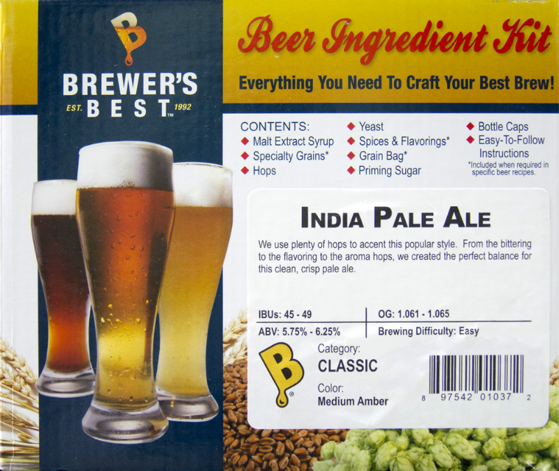 India Pale Ale Ingredient Kit