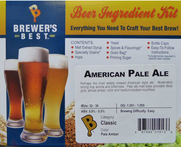 American Pale Ale Ingredient Kit