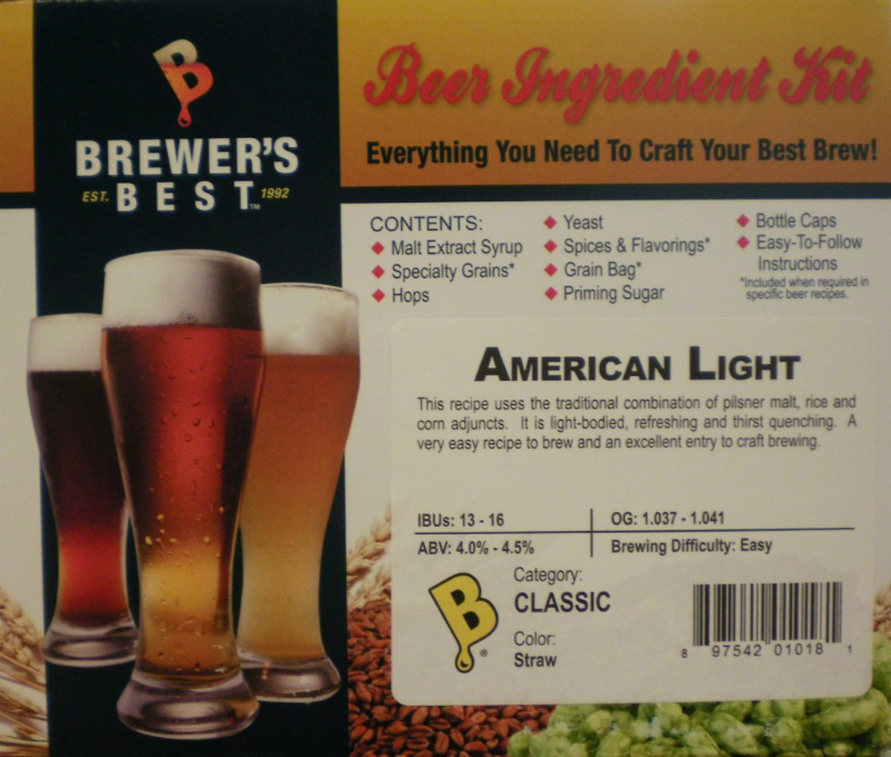 American Light Ingredient Kit