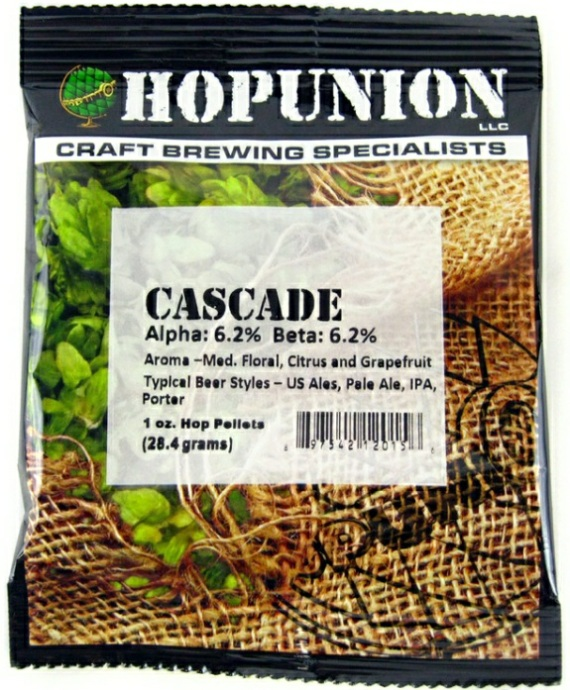 US Cascade Hop Pellets 1oz