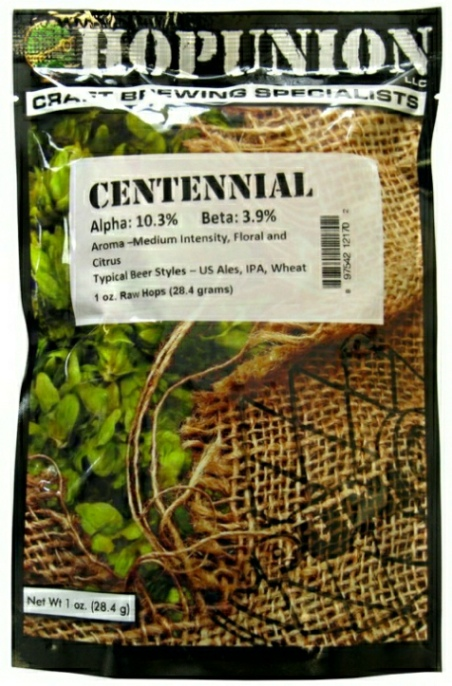 US Centennial Leaf Hops 1 oz
