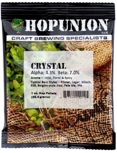 US Crystal Hop Pellets 1oz