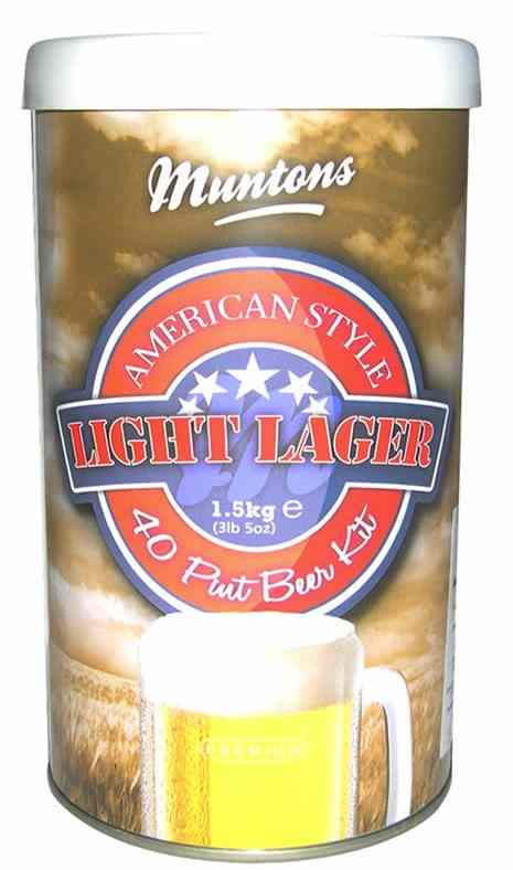 Munton's Light Lager