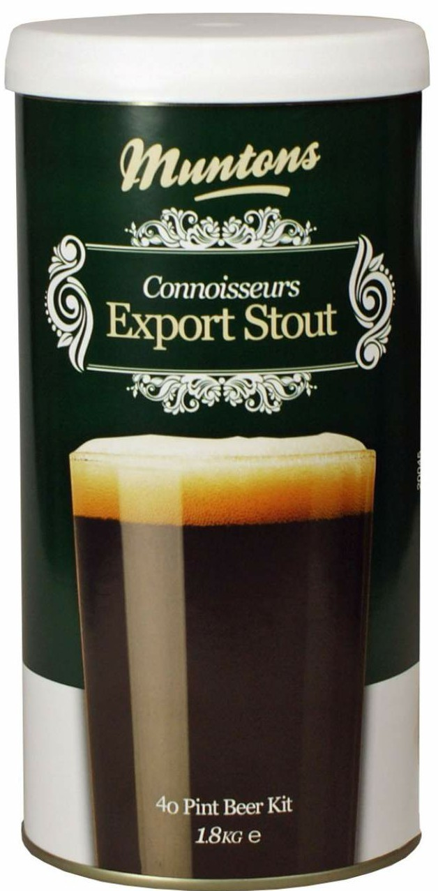 Munton's Connoisseurs Export Stout Malt Extract Kit 4 LB