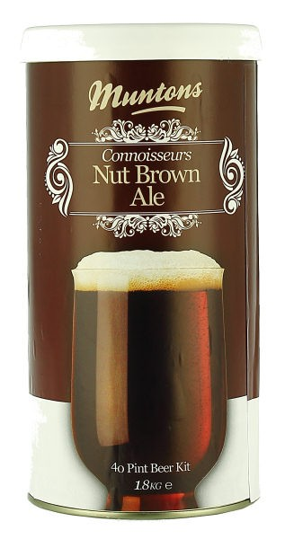 Munton's Connoisseurs Nut Brown Ale Malt Extract Kit 4 LB