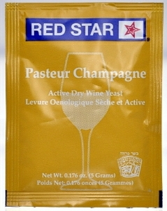 Red Star Champagne Active Freeze Dried Wine Yeast