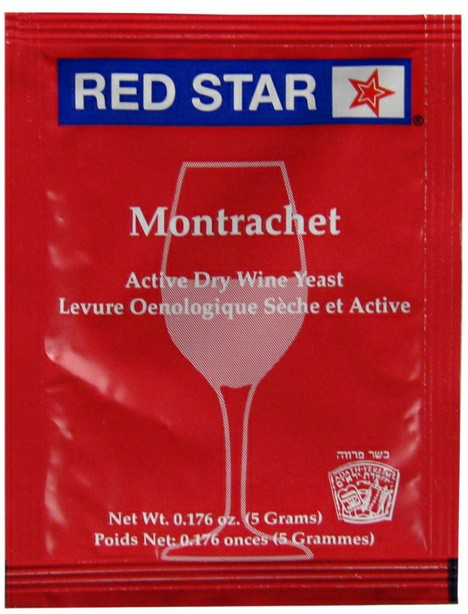 Red Star Montrachet Active Freeze Dried Wine Yeast