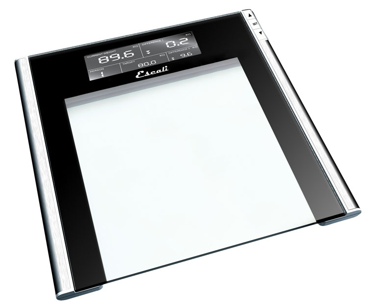 escali ustt200 track target bathroom scale 440 lb meat