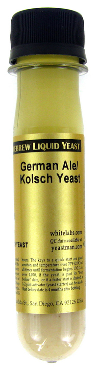 White Labs German/Kolsh Ale Liquid Yeast