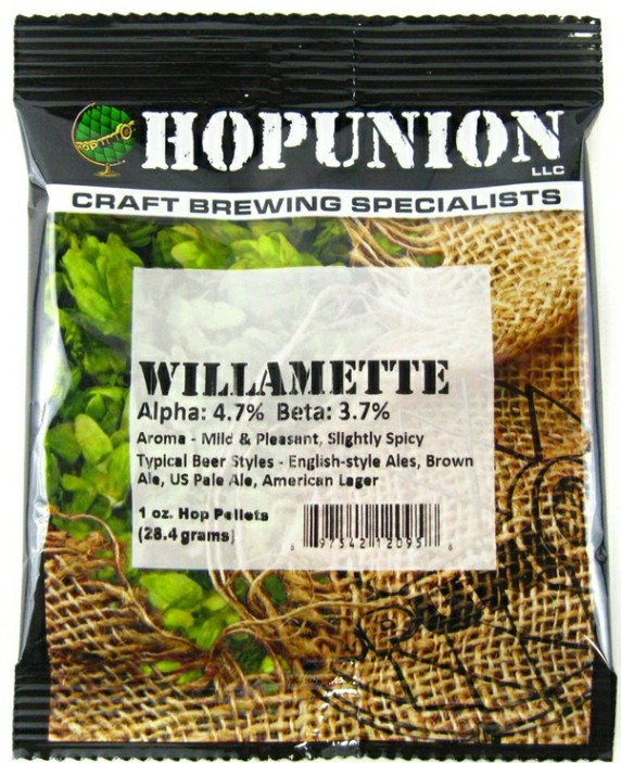 Willamette Hop Pellets 1oz