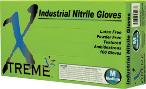 X3 Nitrile Disposable Gloves